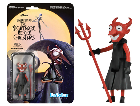 Funko ReAction: Nightmare Before Christmas - The Devil Action Figure