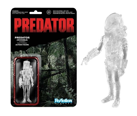 Funko ReAction: Predator - Clear Masked Predator Action Action Figure