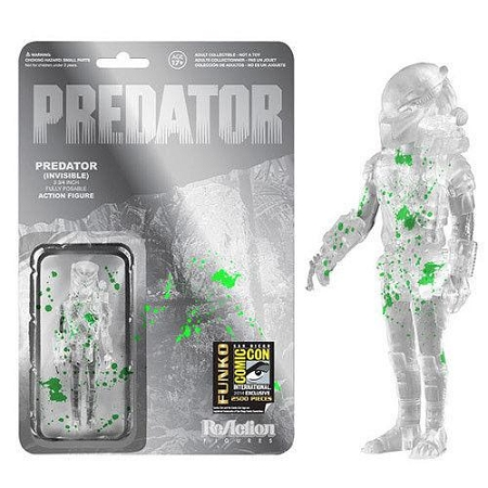 Funko ReAction: Predator - Predator (Invisible) Action Figure (SDCC 2014 Exclusive)