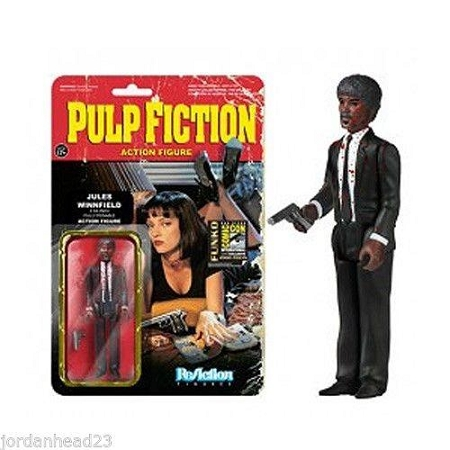 Funko ReAction: Pulp Fiction - Jules Winnfield (Bloody) Action Figure (SDCC 2014 Exclusive)
