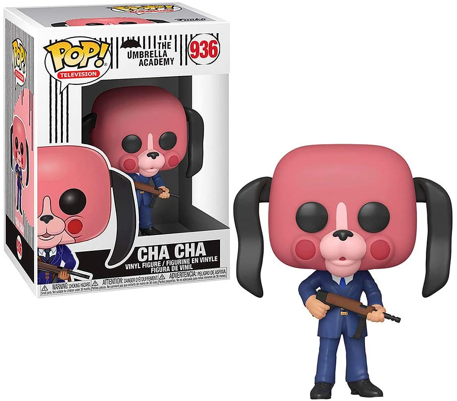 POP! Television: The Umbrella Academy -  Cha Cha with Mask Vinyl Figure #937
