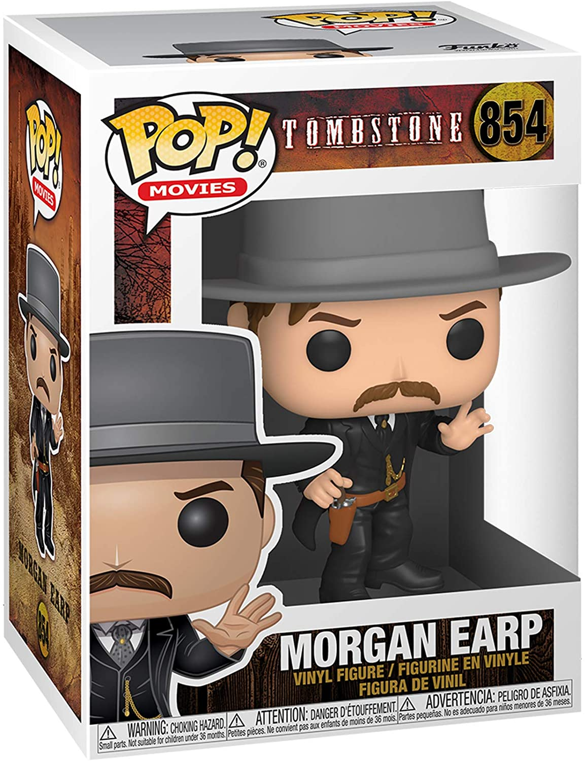 POP! Movies: Tombstone - Morgan Earp Vinyl Figure #854