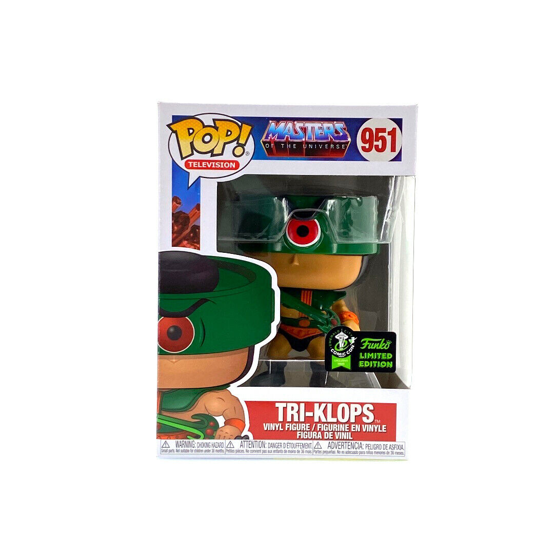 POP! Television: Masters of the Universe - Tri-Klops Vinyl Figure #951 Funko Limited Edition
