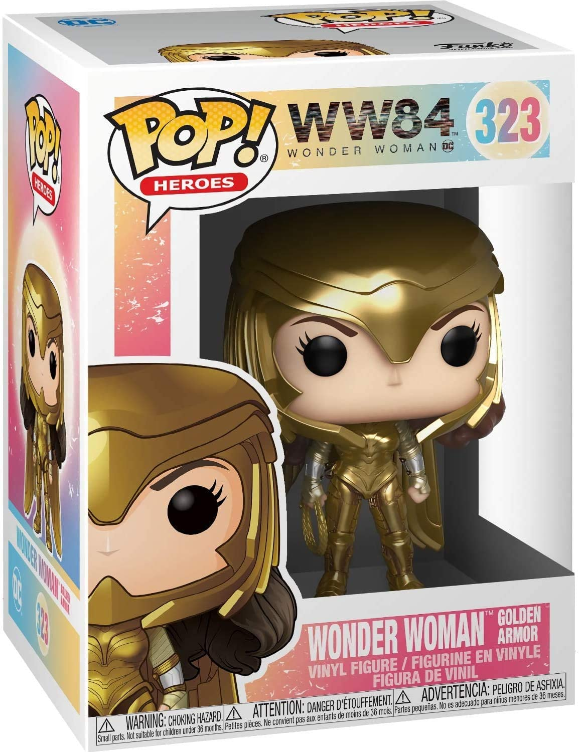 POP! Heroes: Wonder Woman - Wonder Woman Golder Armor Vinyl Figure #323
