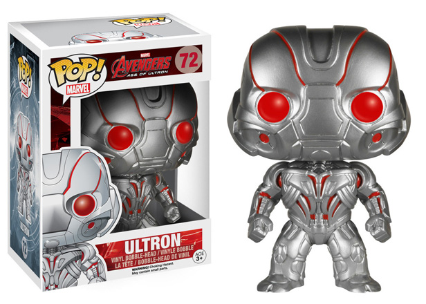 POP! Marvel: Avengers 2: Age of Ultron - Ultron Vinyl Bobblehead Figure #72