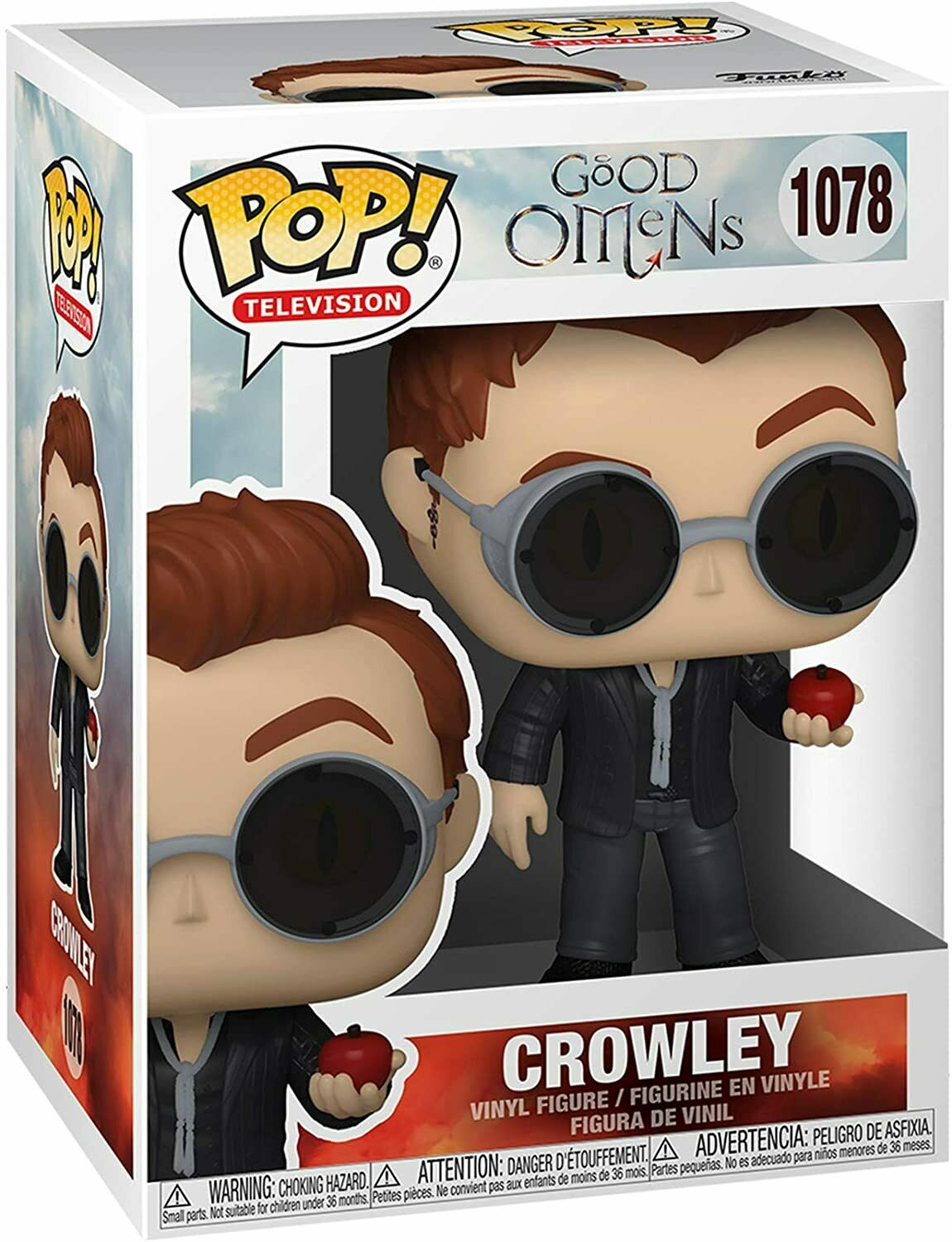POP! Television: Good Omens - Crowley Vinyl Figure #1078