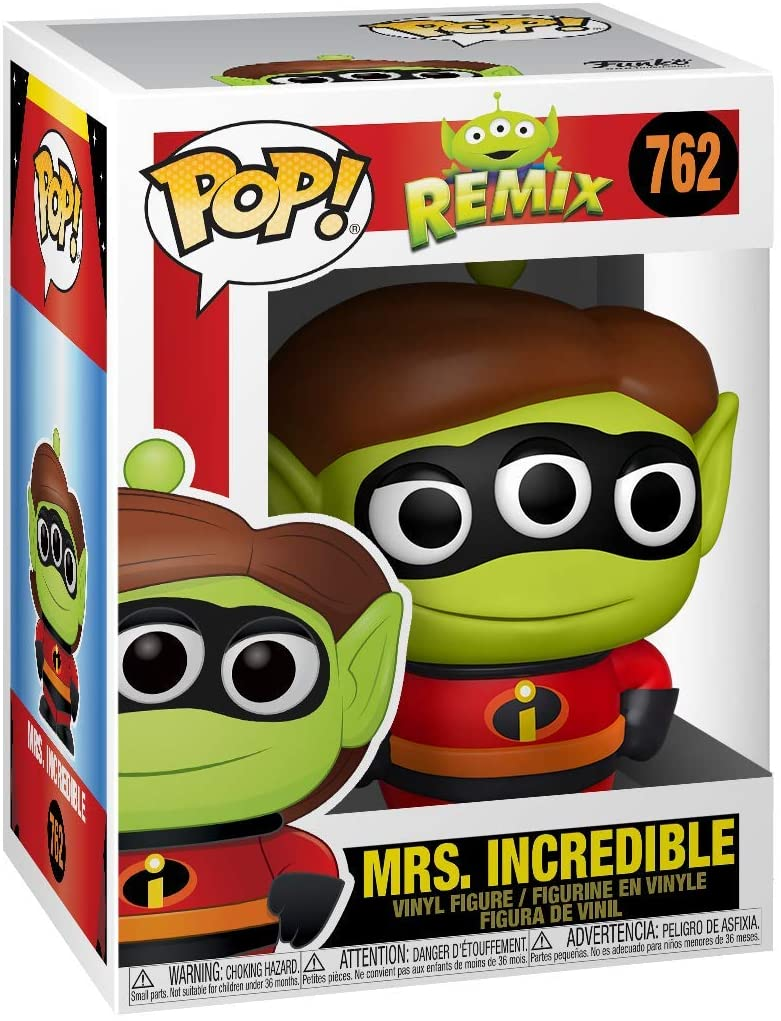 POP! Disney Remix: Alien - Mrs. Incredible Vinyl Figure #762