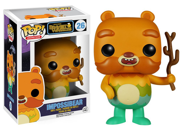 POP! Animation: Bravest Warriors - Impossibear Vinyl Figure #26