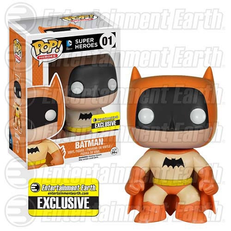POP! DC Comics: Batman 75th Anniversary - Orange Rainbow Vinyl Figure #1 (Entertainment Earth Exclusive)