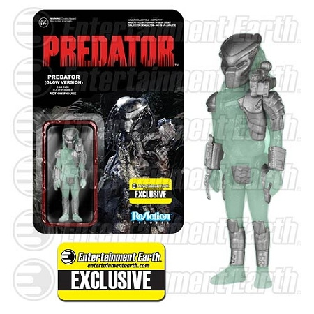 Funko ReAction: Predator - Predator (Glow Version) GID Action Figure (Entertainment Earth Exclusive)