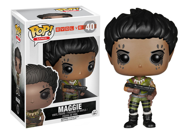POP! Games: Evolve - Maggie Vinyl Figure #40