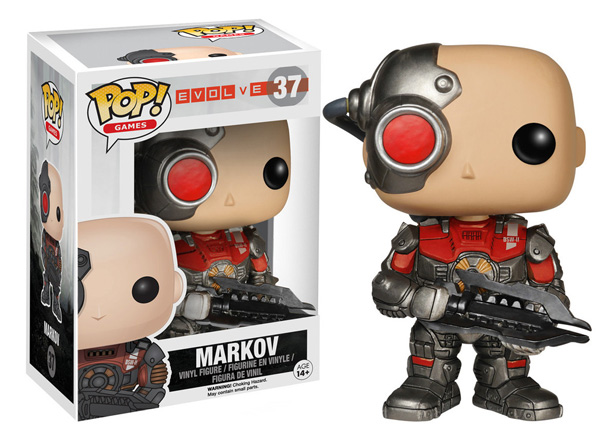 POP! Games: Evolve - Markov Vinyl Figure #37