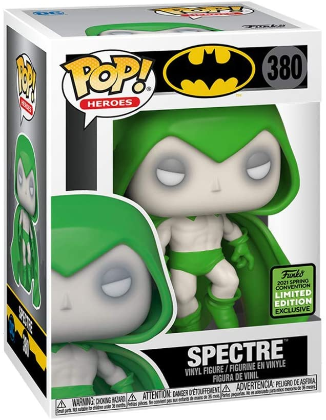 POP! Heroes: Batman - Spectre Vinyl Figure #380 ECCC Exclusive