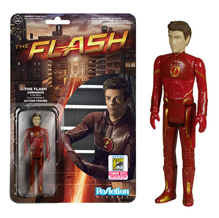 Funko ReAction: The Flash - The Flash Unmasked Action Figure (SDCC 2015 Exclusive)