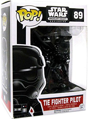 POP! Star Wars: The Force Awakens - Tie Fighter Pilot Vinyl Bobblehead Figure #89 (Smuggler's Bounty Exclusive)