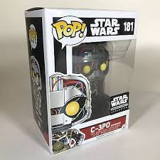 POP! Star Wars: C-3PO [Unfinished] Vinyl Bobblehead Figure #181 (Smuggler's Bounty Exclusive)