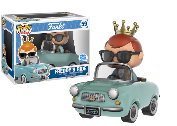 POP! Rides Freddy Funko: Freddy's Ride Vinyl Figure #59 (Funko Exclusive)