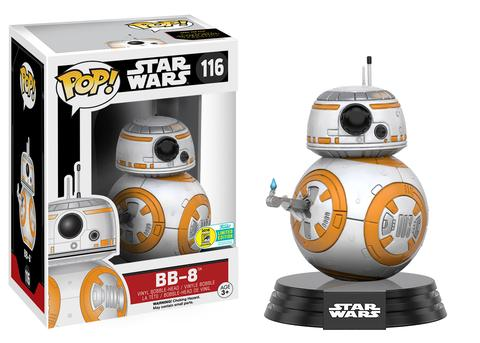 POP! Star Wars: The Force Awakens - BB-8 [Finger] Vinyl Bobblehead Figure #116 (SDCC 2016 Exclusive)*