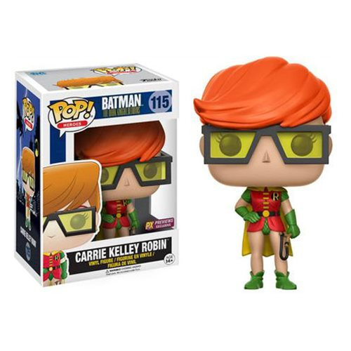 POP! DC Comics: The Dark Knight Returns - Carrie Kelly Robin Vinyl Figure #115 (Previews Exclusive)