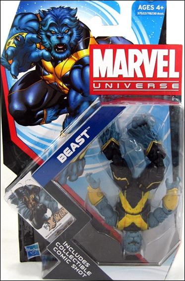 Marvel Universe: Series 4 - Beast Action Figure #10 (Upside Down Variant)