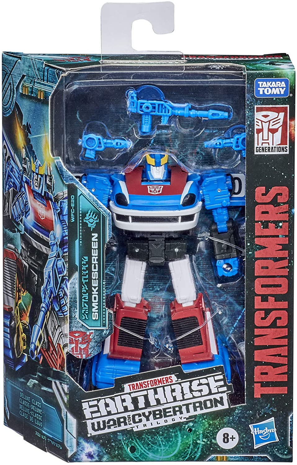 Transformers Generations Earthrise War for Cybertron Deluxe Smokescreen
