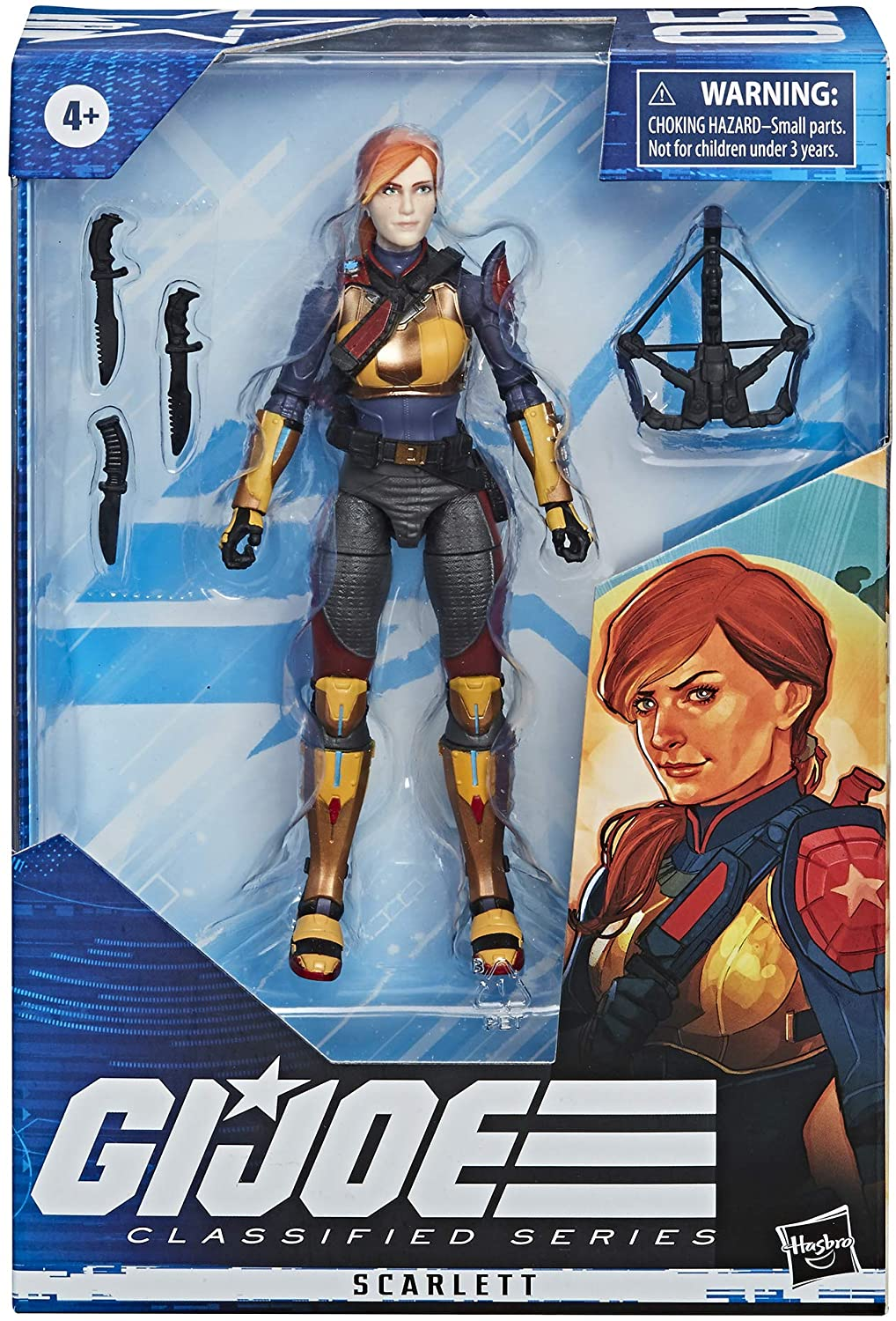 Hasbro GI Joe: Classified Series - Scarlett Action Figure