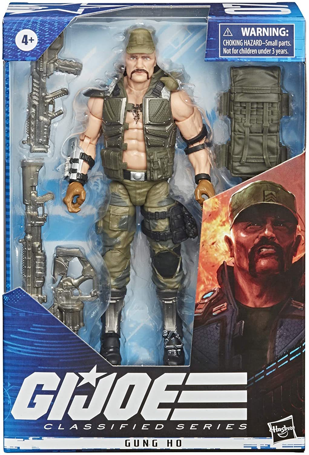 Hasbro GI Joe: Classified Series - Gung Ho Action Figure