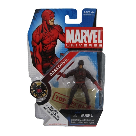 Marvel Universe: Series 1 - Daredevil Action Figure #8 (Dark Variant)