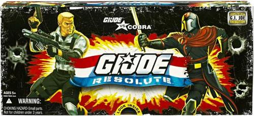 G.I. Resolute: Joe vs Cobra Action Figure 5-Pack