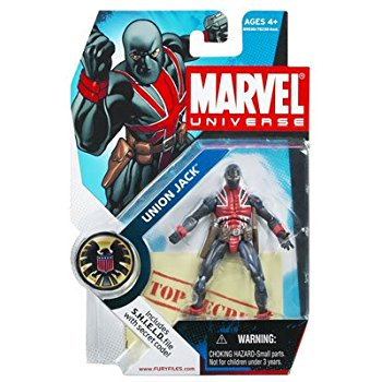 Marvel Universe: Series 1 - Union Jack Action Figure #26