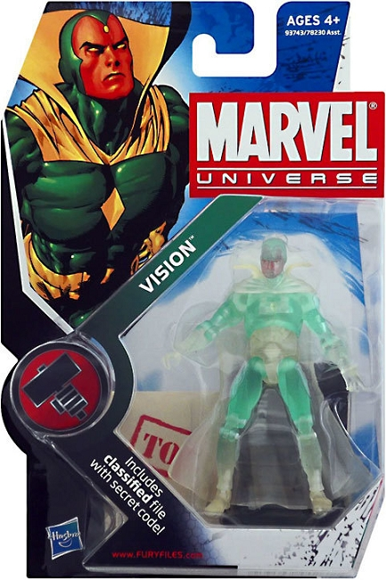 Marvel Universe: Series 6 - Vision 3.75