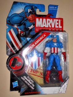 Marvel Universe: Series 2 - Captain America 3.75