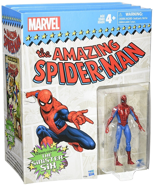Marvel Legends: Vintage Series - The Amazing Spider-Man vs. The Sinister Six Action Figure 7-Pack