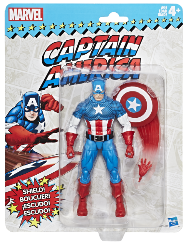 Marvel Legends: Vintage Series - Captain America 6