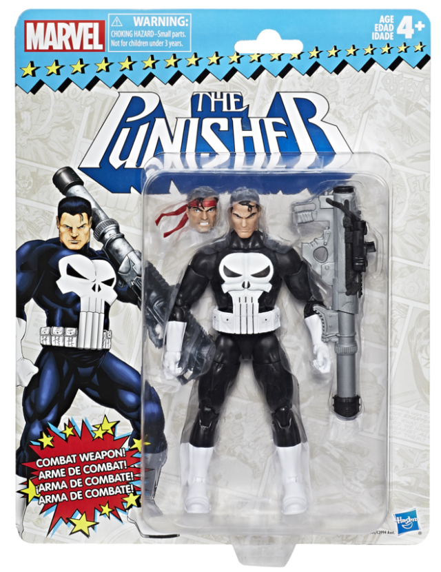 Marvel Legends: Vintage Series - The Punisher 6