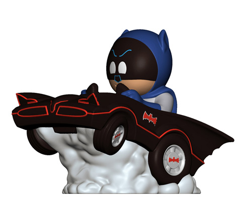 Hallmark: Squeelys Batman Vinyl Figure Ride (Hallmark SDCC 2016 Exclusive)