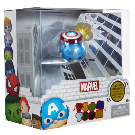 Disney: Marvel - Captain America Metallic Tsum Tsum (SDCC 2016 Exclusive)