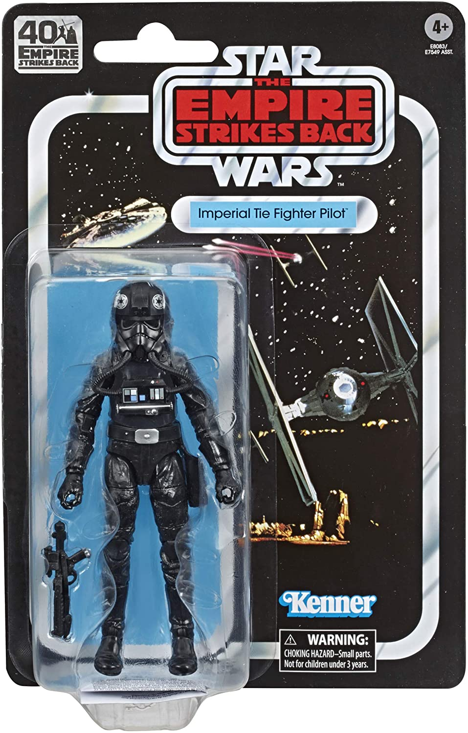 Star Wars The Black Series: 40th Anniversary - Imperial TIE Fighter Pilot