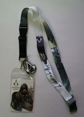 Assassin's Creed Unity Lanyard