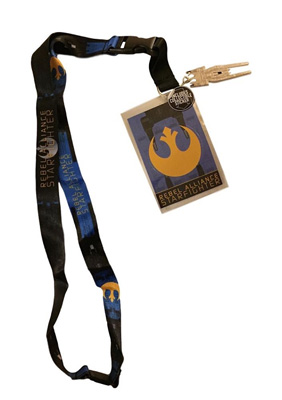 Star Wars: Blue Squadron Rebel Alliance Starfighter Lanyard
