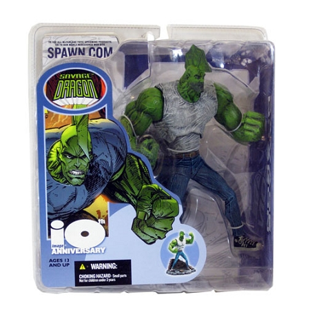 McFarlane Toys: Image Comics 10th Anniversary Savage Dragon Action Figure (Flawed)