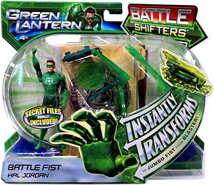 Mattel DC Green Lantern: Battle Shifters Battle Fist Hal Jordan Figure