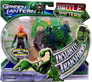 Mattel DC Green Lantern: Battle Shifters Scorpion Assault Tomar-Re Figure