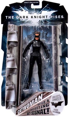 Mattel Movie Masters: The Dark Knight Rises - Catwoman Collector's Figure (Goggles Down Variant)