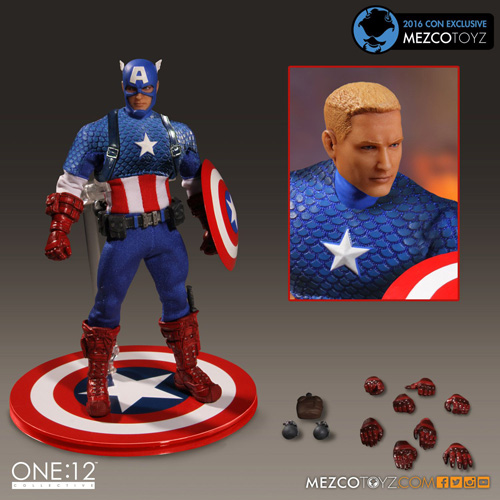 One:12 Collective - Marvel - Classic Captain America Deluxe Version (SDCC 2016 Exclusive)
