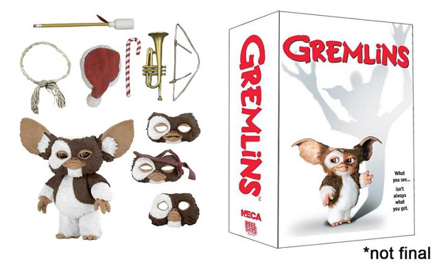 "7/"" Scale Action Figure NECA Ultimate Gizmo Gremlins"