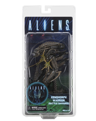 NECA Aliens: Xenomorph Warrior (Battle Damaged Torso Shot) 7