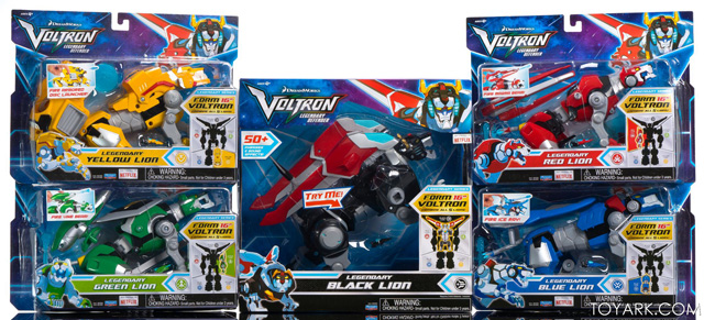 Playmates: Voltron Legendary Defender - Metal Defender Complete Set (SDCC 2017 Exclusive)