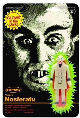 Super7 ReAction: Vampire Nosferatu Monster Glow in the Dark Action Figure