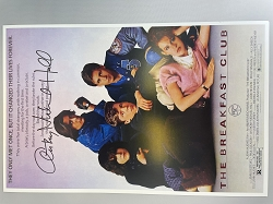 The Breakfast Club Poster 11x17 Signed by Anthony Michael Hall